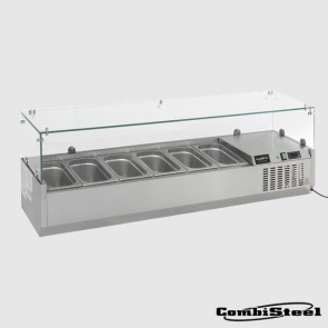 Combisteel 7450.0015 : 4 x 1/3 GN Counter Top Refrigerated Display