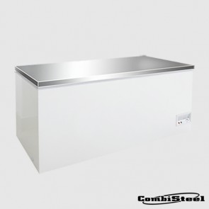 Combisteel 7450.0170 : 526 Ltr SS Cover Chest Freezer