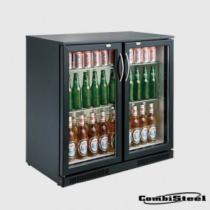 Combisteel 7455.1305  198 Ltr Double Door Back Bar Cooler