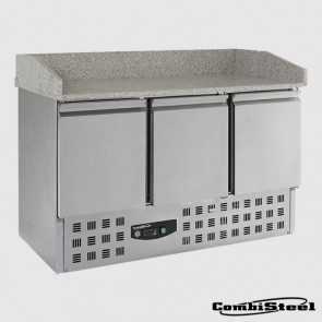 Combisteel 7950.0060 : 230 Ltr 3 Door Pizza Prep Counter
