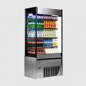 Framec Small 60X Multideck Display Fridge - Stainless Steel