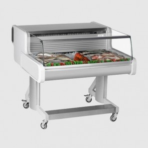 Frilixa CEL10 FISH: Low Glass Fish/Meat Display Counter