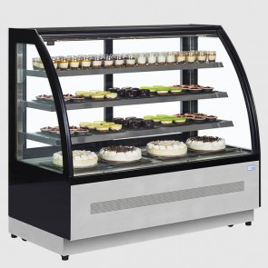 Interlevin LPD900C 0.905m Wide Chilled Display Cabinet