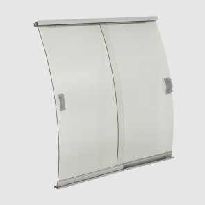 Semi-Vertıcal-Curved Retrofit Glass Chiller Doors